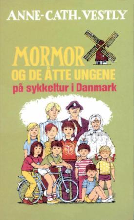 Mormor og de åtte ungene på sykkeltur i Danmark