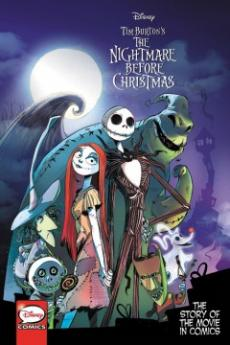 Tim Burton's The nightmare before Christmas : the story of the movie in comics