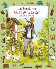 På besøk hos Gubben og katten : en let og finn-bok