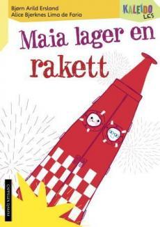 Maia lager en rakett