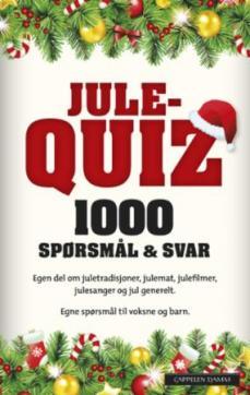 Julequiz : 1000 spørsmål & svar