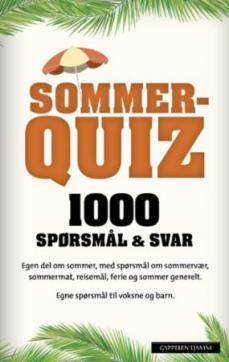 Sommerquiz : 1000 spørsmål & svar