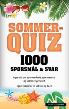 Sommerquiz 2018 : 1000 spørsmål & svar
