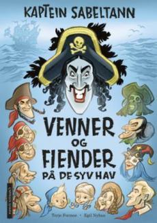 Kaptein Sabeltann : venner og fiender på de syv hav