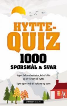 Hyttequiz 1 : 1000 spørsmål & svar