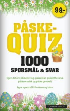 Påskequiz 2019 : 1000 spørsmål & svar