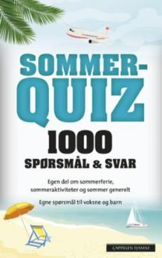 Sommerquiz 2019 : 1000 spørsmål & svar
