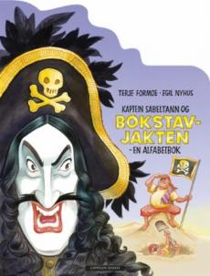 Kaptein Sabeltann og bokstavjakten : en alfabetbok