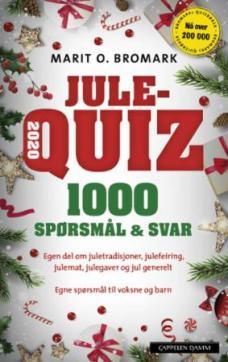 Julequiz 2020 : 1000 spørsmål & svar