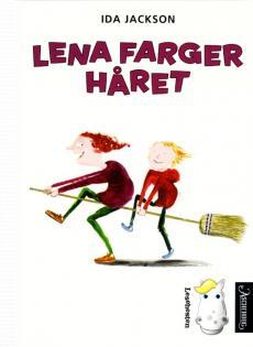 Lena farger håret