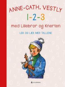 1-2-3 med Lillebror og Knerten : lek og lær med tallene