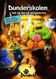 Dunderskolen : lek og lær på monstervis : språk- og matteaktiviteter for små og store monstre!