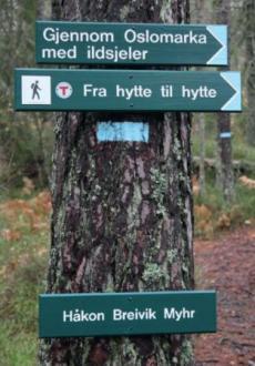 Gjennom Oslomarka med ildsjeler : fra hytte til hytte