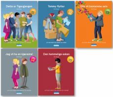 Tigergjengen bok 1-5 : lettlest-serie for ungdom og voksne