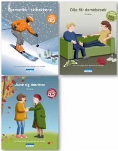 Tigergjengen bok 10-12 : lettlest-serie for ungdom og voksne