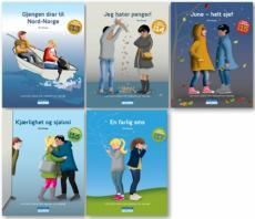 Tigergjengen bok 13-17 : lettlest-serie for ungdom og voksne