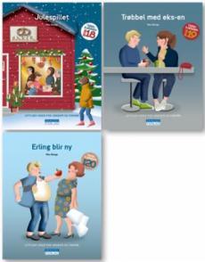 Tigergjengen bok 18-20 : lettlest-serie for ungdom og voksne