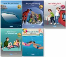 Tigergjengen bok 21-25 : lettlest-serie for ungdom og voksne