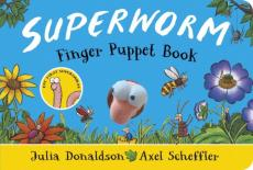 Superworm finger puppet book - the wriggliest, squiggliest superhero ever!