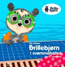 Brillebjørn i svømmehallen